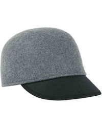 Genie by Eugenia Kim - Alex Wool & Leather Newsboy Cap - Lyst