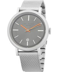 Ted Baker - Connor Stainless Steel Analog Watch - Lyst