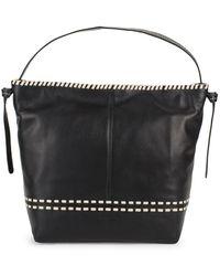 Cole Haan - Brynn Leather Shoulder Bag - Lyst