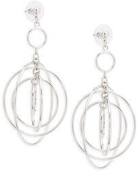 Cara - Multi Hoop Hang Earrings - Lyst
