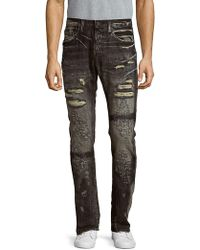 PRPS - Distressed Faded Jeans - Lyst