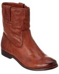 Frye Anna Shortie Leather Boot