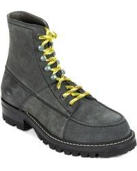 Lanvin Suede Boot - Gray