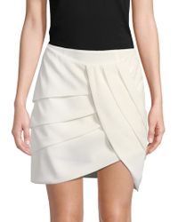 C/meo Collective - Pleated Tulip Skirt - Lyst