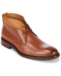 Cole Haan - Williams Leather Chukka Boots - Lyst