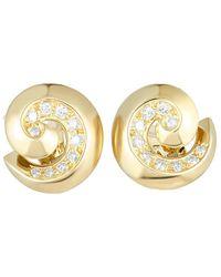 Heritage Van Cleef & Arpels - Van Cleef & Arpels 18k 1.25 Ct. Tw. Diamond Earrings - Lyst