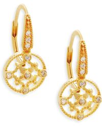 Freida Rothman - Signature Sterling Silver Drop Earrings - Lyst