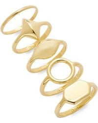 Chloé - Harlow Stackable Rings - Lyst