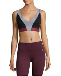 Body Language Sportswear - Posh Criss-cross Top - Lyst