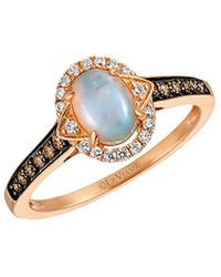Le Vian ? 14k Rose Gold 0.63 Ct. Tw. Diamond & Opal Ring