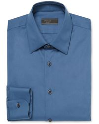 Prada - Solid Dress Shirt - Lyst