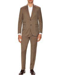 Michael Bastian - Grey Label Wool Herringbone Notch Lapel Suit - Lyst