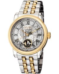 Gevril Watches - Washington Silver-tone Dial Watch, 47mm - Lyst