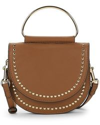 Vince Camuto - Elyna Studded Leather Crossbody Bag - Lyst
