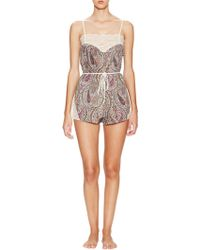 Only Hearts Thistle Paisley Romper - Multicolour