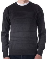 Robert Talbott - Broderick Stripe Crew Sweater - Lyst