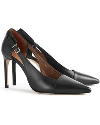 Reiss Halley Leather Pump