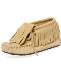 Manitobah Mukluks - Paddle Suede Vibram Moccasin - Lyst