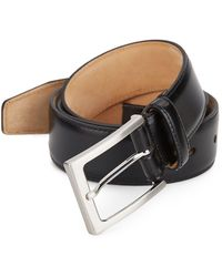 Saks Fifth Avenue - Leather Belt - Lyst