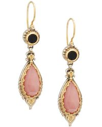 Konstantino - Amphitrite Agate, Onyx, 18k Yellow Gold & Sterling Silver Earrings - Lyst