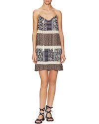 Marabelle - Boho Trapeze Dress - Lyst