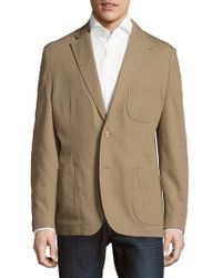 Kroon - Solid Cotton Stretch Sportcoat - Lyst