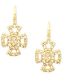Freida Rothman - 14k Gold Plated Earrings - Lyst