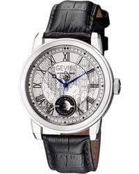Gevril Watches - Washington Silver-tone Watch, 47mm - Lyst
