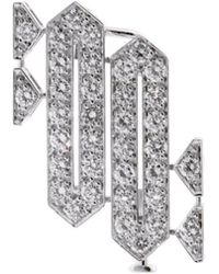 Cartier - Cartier Platinum 1.35 Ct. Tw. Diamond Brooch - Lyst