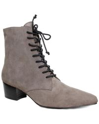 Archive Shoes - Barrow Suede Bootie - Lyst