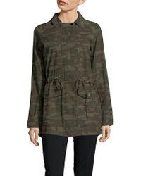 Sanctuary - Camouflage Field Jacket - Lyst
