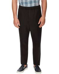 Vince | Linen Ankle Zip Pleated Trousers | Lyst