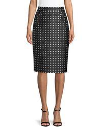 Ralph Lauren - Carlton Pencil Skirt - Lyst