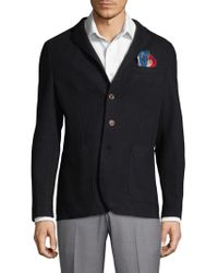 AT.P.CO - Solid Pocket Sportcoat - Lyst
