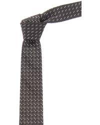 Givenchy - Black Geometric Silk Tie - Lyst