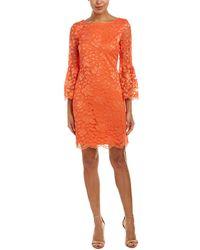 Nine West Sheath Dress - Orange