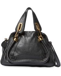 Chloé - Vintage Leather Paraty Small Piped Satchel - Lyst