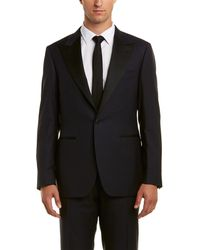 Canali - Wool Suit - Lyst