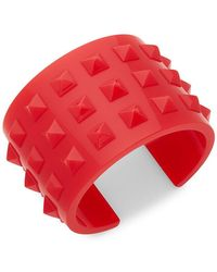 Valentino - Studded Bangle Bracelet - Lyst
