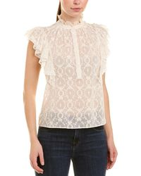 Rebecca Taylor - Lily Silk Top - Lyst