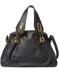 Chloé - Vintage Leather Paraty Med Piped Satchel - Lyst