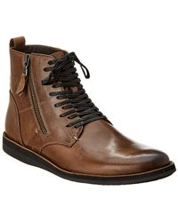 John Varvatos - . Star B Leather Boot - Lyst