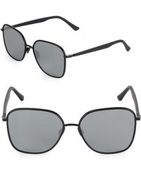 Sunday Somewhere - 57mm Herm Tinted Square Sunglasses - Lyst