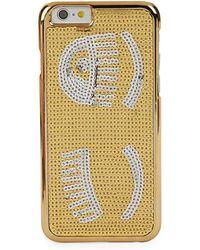 Chiara Ferragni - Sequined Iphone 6-6s Case - Lyst