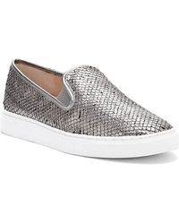 Vince Camuto - Becker Leather Slip-on Trainers - Lyst