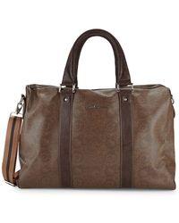 Robert Graham - Paisley-print Faux Leather Duffle Bag - Lyst