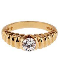 BVLGARI Bulgari 18k 0.50 Ct. Tw. Diamond Ring