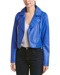 Sam Edelman - Starburst Moto Jacket - Lyst