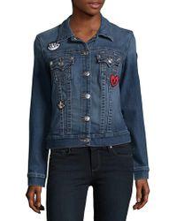 True Religion - Denim Tracker Jacket - Lyst