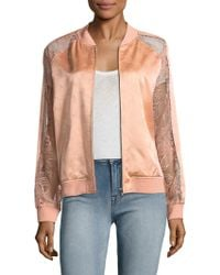 Opening Ceremony - Gestures Lace Bomber Jacket - Lyst
